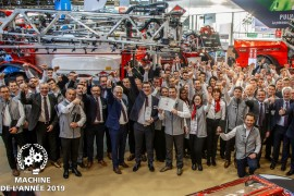 Kuhn Metris 2 met Autospray - Machine of the Year 2019
