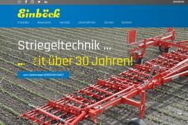Nieuwe website voor Einböck