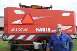 Rauch Axis M EMC is gewoon een goede strooier