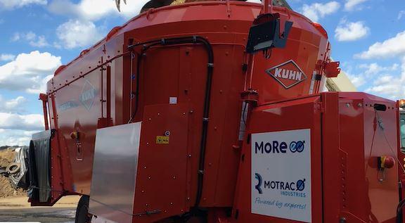 MoRe-E Elektrische Voermengwagen