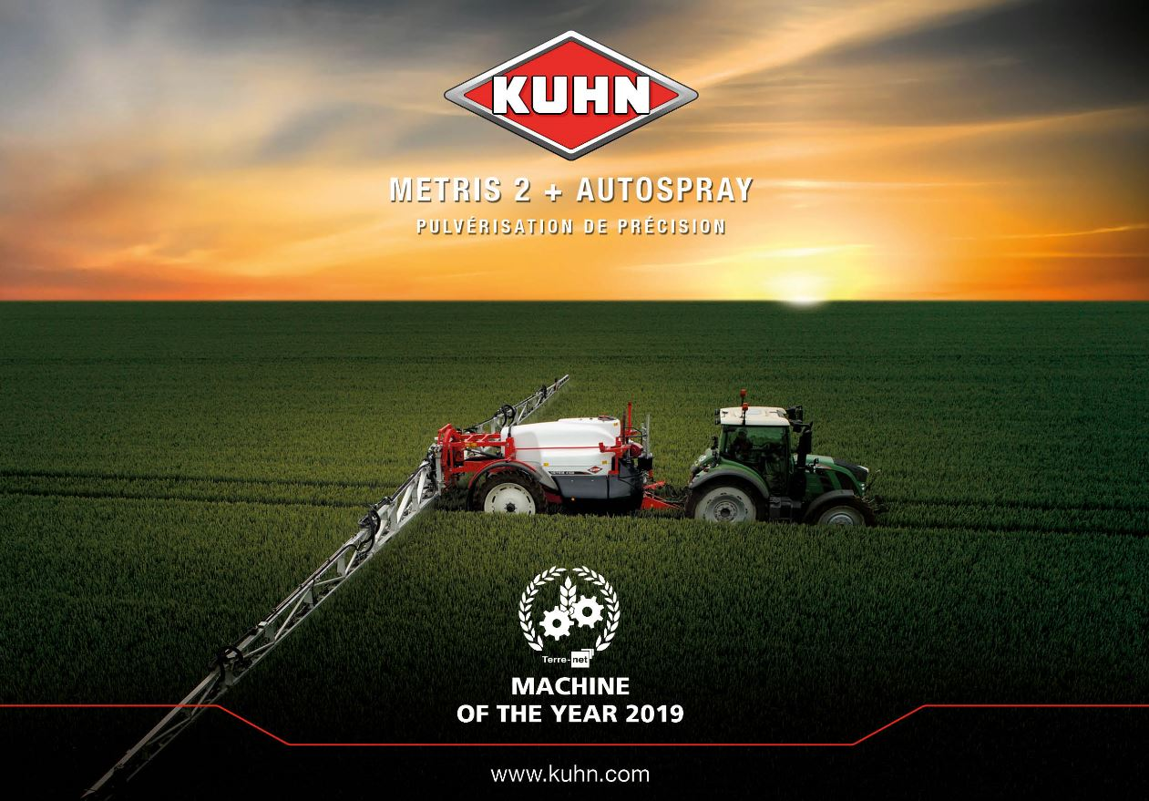 machine of the year kuhn metris 5