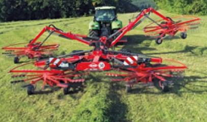 Kuhn ga 13031 (1) vier rotor harken