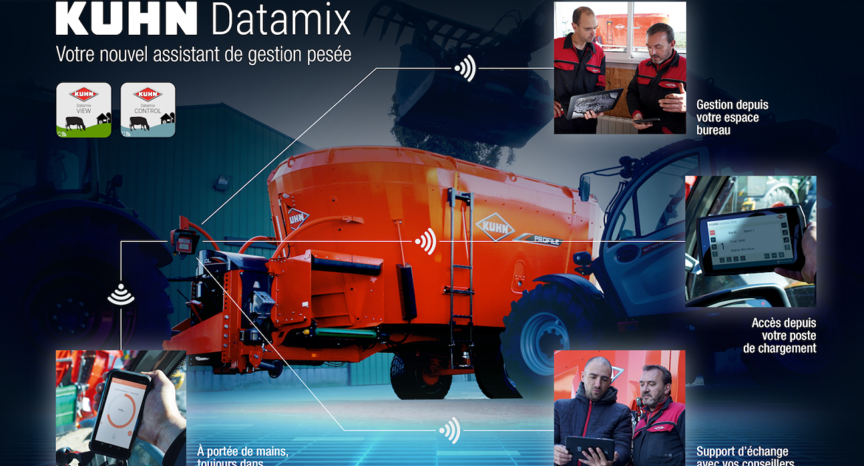 kuhn datamix weegsysteem voermengwagens